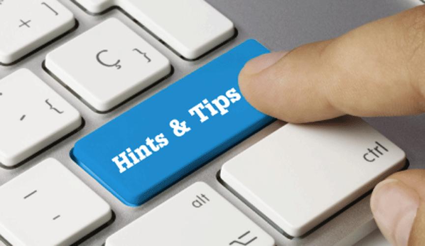 Hints-&-Tips